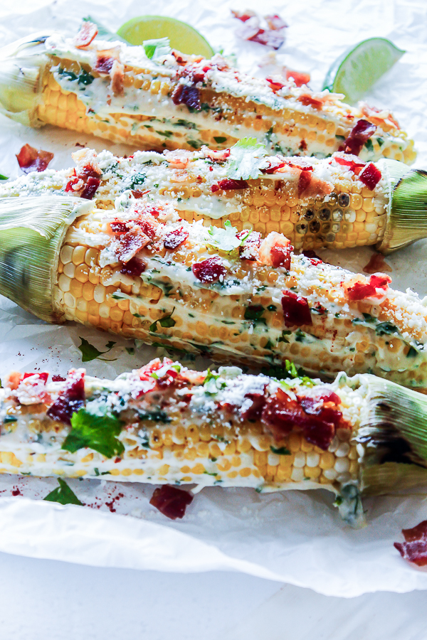 Mexican Grilled Corn on the Cob