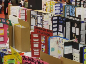 A typical science fair scene. Photo by Flickr user RichardBowen | CC BY 2.0