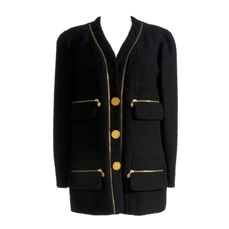chanel wool suit 1stdibs