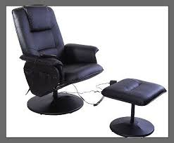 Aosom I3233 Office recliner Chair with Ottoman