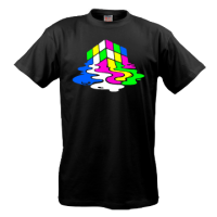 Psy Rubik's Cube (Neon and in Dark Glow)