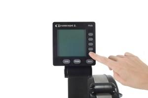Concept2 Model D Indoor Rowing Machine Monitor