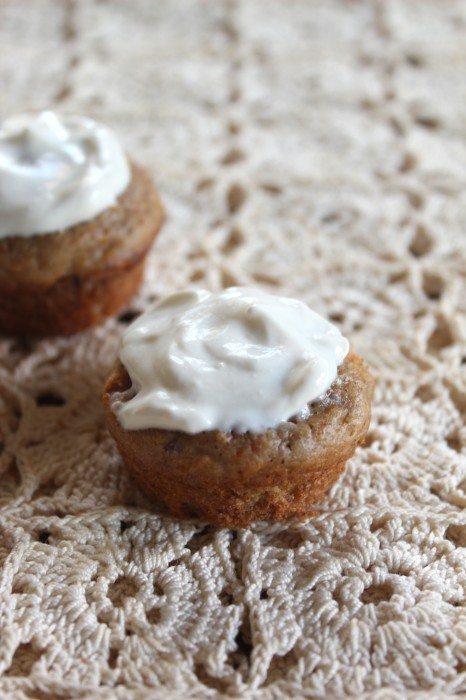 Mini Carrot Muffins from Healthy Food For Living