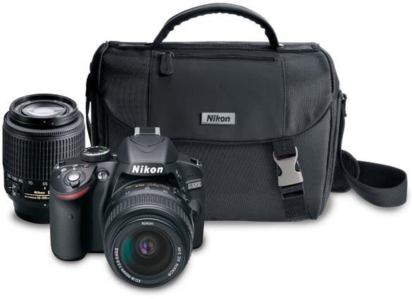 Nikon-D3200-24-2-MP-CMOS-Digital-SLR-Camera-with-18-55mm-and-55-200mm-Non-VR-DX-Zoom-Lenses-Bundle