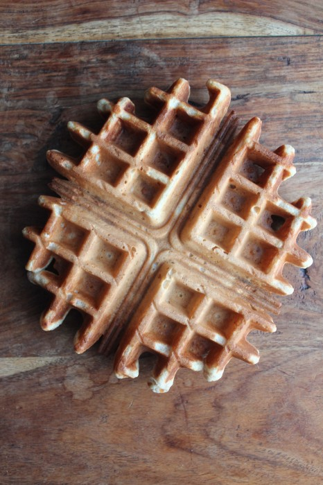Banana Waffles from Healthy Food For Living