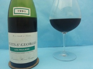 Nuits St Georges Pruliers 1991 Henri Gouges from Yats