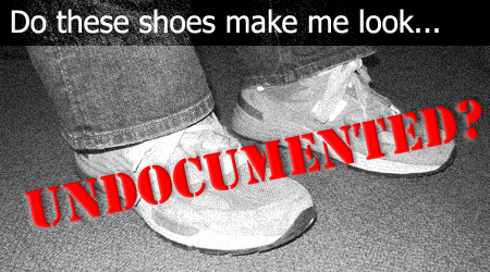 Do these shoes make me look undocumented