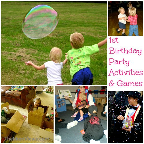 first birthday party games