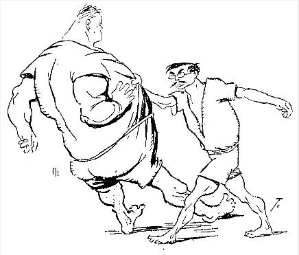 Uyenishi charicature by Campillo1908