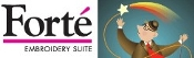 See information on Forte Embroidery Suite