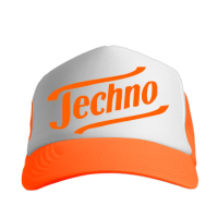 Techno Orange Сap