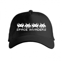 Space Invaders Glow in The Dark Cap