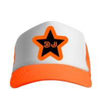 DJ Star Orange Cap