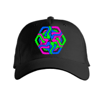 Acid Flow (Neon Glow) Black Cap
