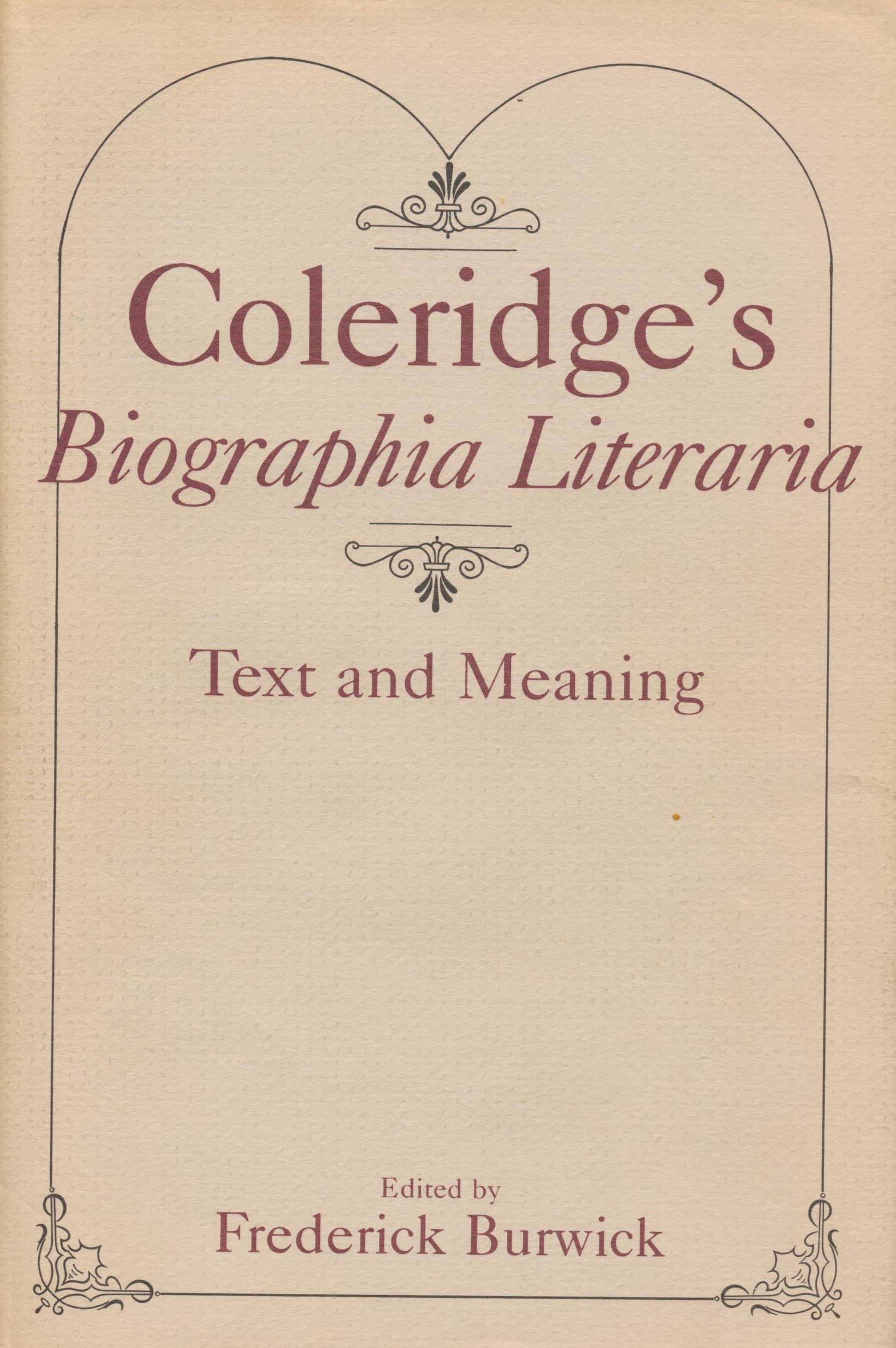 Coleridges_Biographia