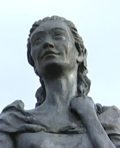 Jean Armour's Statue in Mauchline