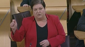 Jackie Baillie MSP Called for an energy price freeze