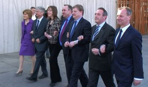 Alex Salmond has kept a stable team