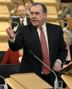 Alex Salmond MSP Lowest level of crime