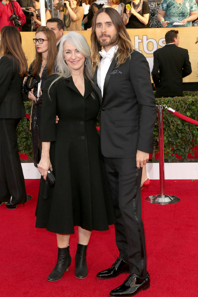 Jared-Leto and his mom