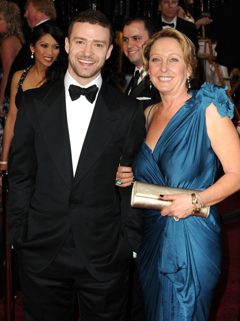 Justin-Timberlake and his mom
