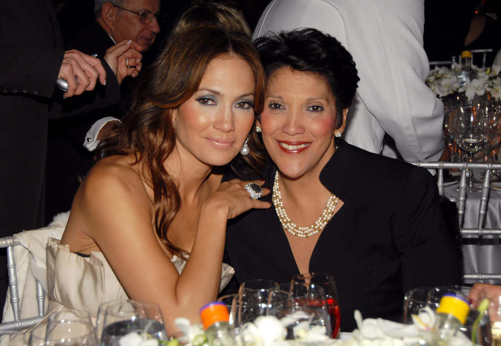 Jennifer-Lopez and his mom