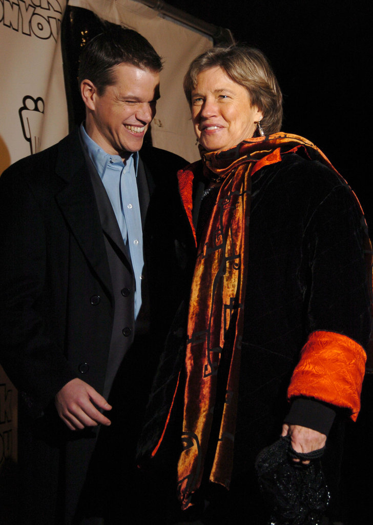 Matt-Damon and his mom