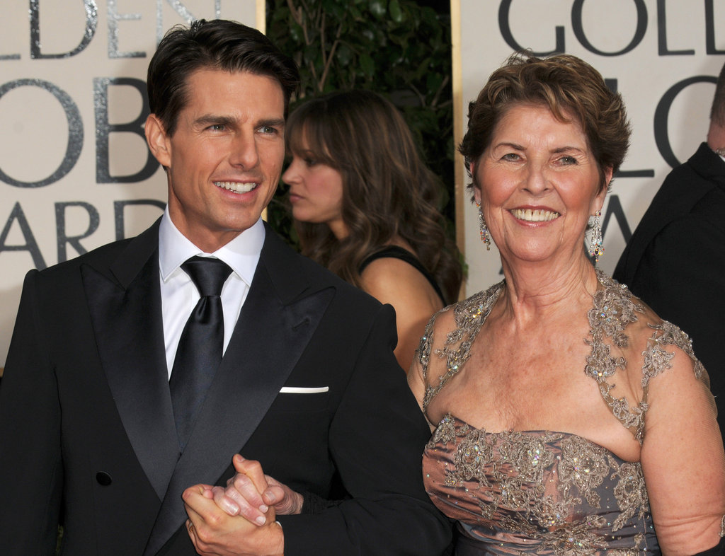 Tom-Cruise and his mom