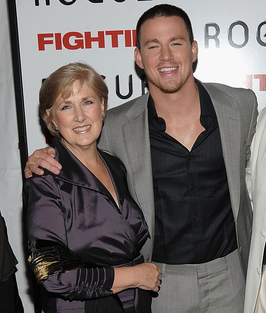 Channing-Tatum and his mom