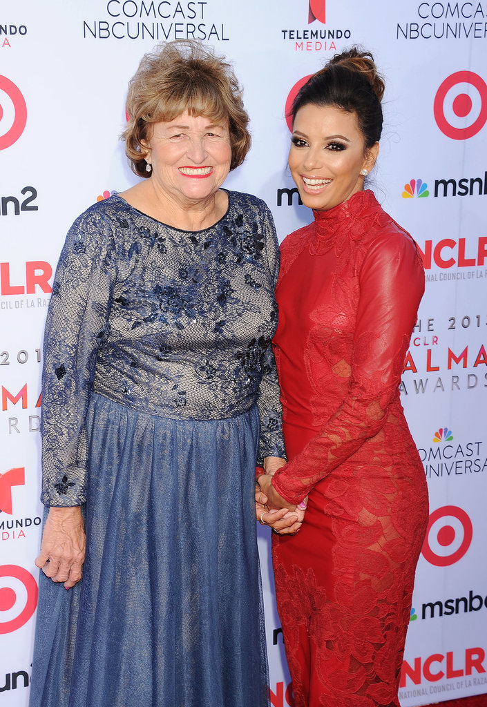Eva-Longoria and his mom