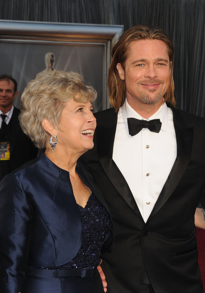 Brad-Pitt and his mom