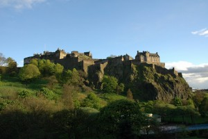 Edinburgh Castle by chrissies at freeimages   291107_2609
