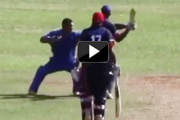 No Gentlemen here! Cricketers break into ugly brawl at a match