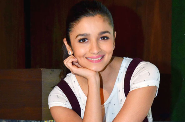 Spotted: Alia Bhatt at a promotional event
