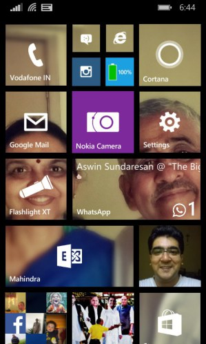 Start screen backgrounds WP8.1