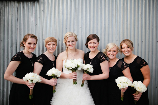 bridesmaids black sleeves urban outfitters