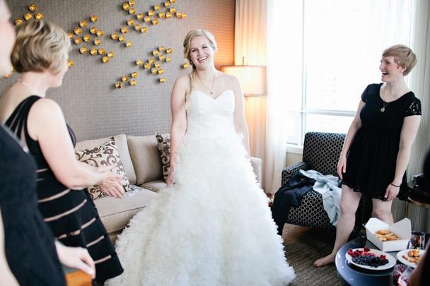 watters dress vancouver wedding
