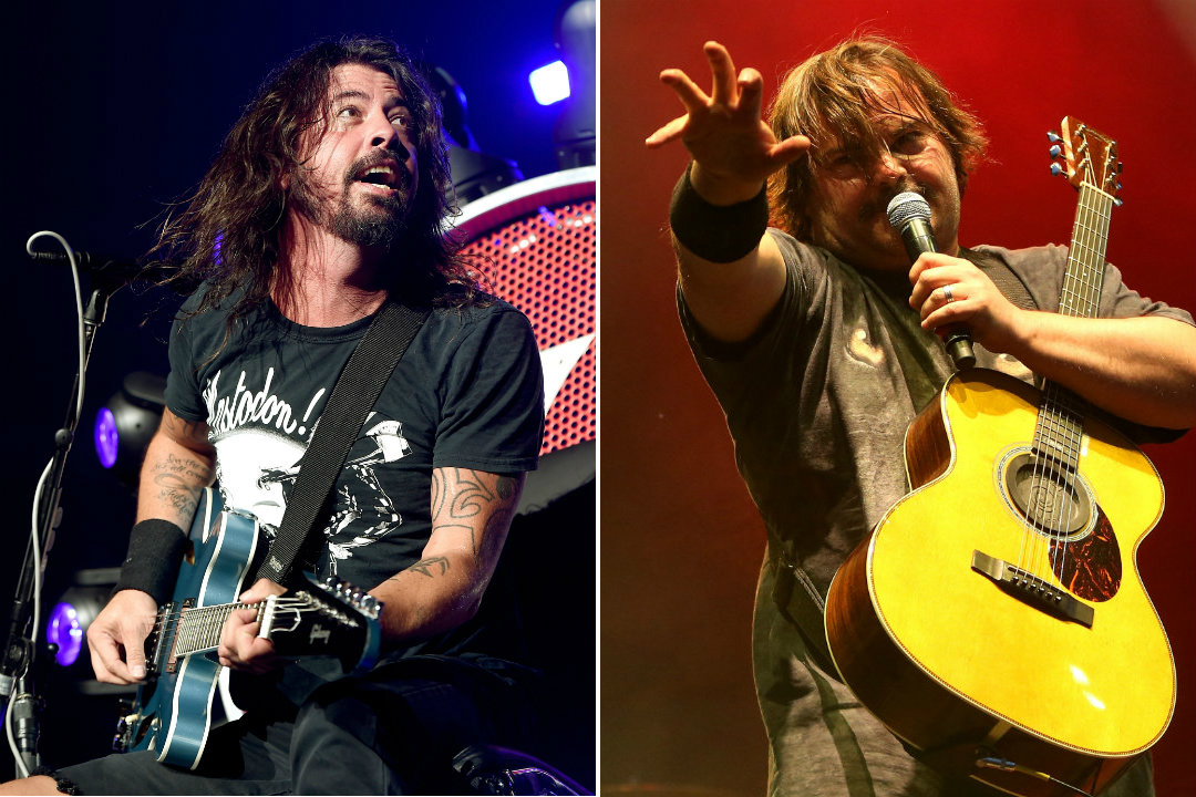 Watch Foo Fighters Bring Out Jack Black for a Cover of Rush's 'Tom Sawyer'