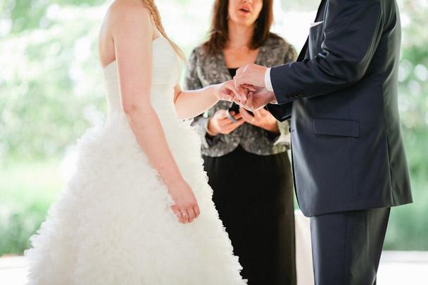 ring exchange vancouver wedding