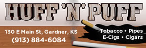Huff and Puff Tabacco Cigars in Gardner, KS