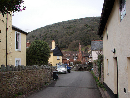 Allerford, just off the beaten track