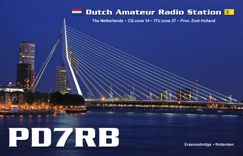 QSL PD7RB 2
