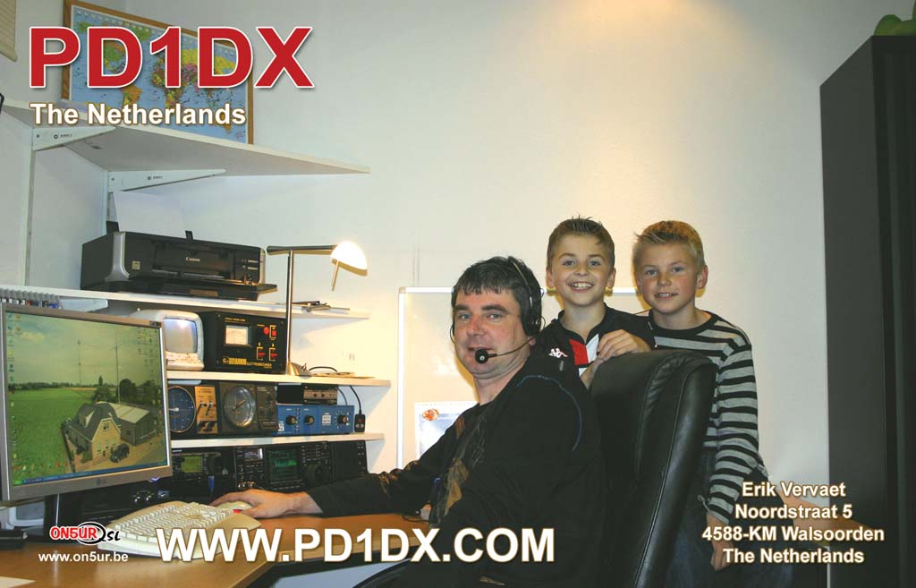 Erik QSL PD1DX