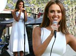 Jessica Alba appears at the opening of her Honest Pop Up Store at The Grove in West Hollywood,CA.\n\nPictured: Jessica Alba\nRef: SPL1133505  240915  \nPicture by: Marcus / Splash News\n\nSplash News and Pictures\nLos Angeles: 310-821-2666\nNew York: 212-619-2666\nLondon: 870-934-2666\nphotodesk@splashnews.com\n