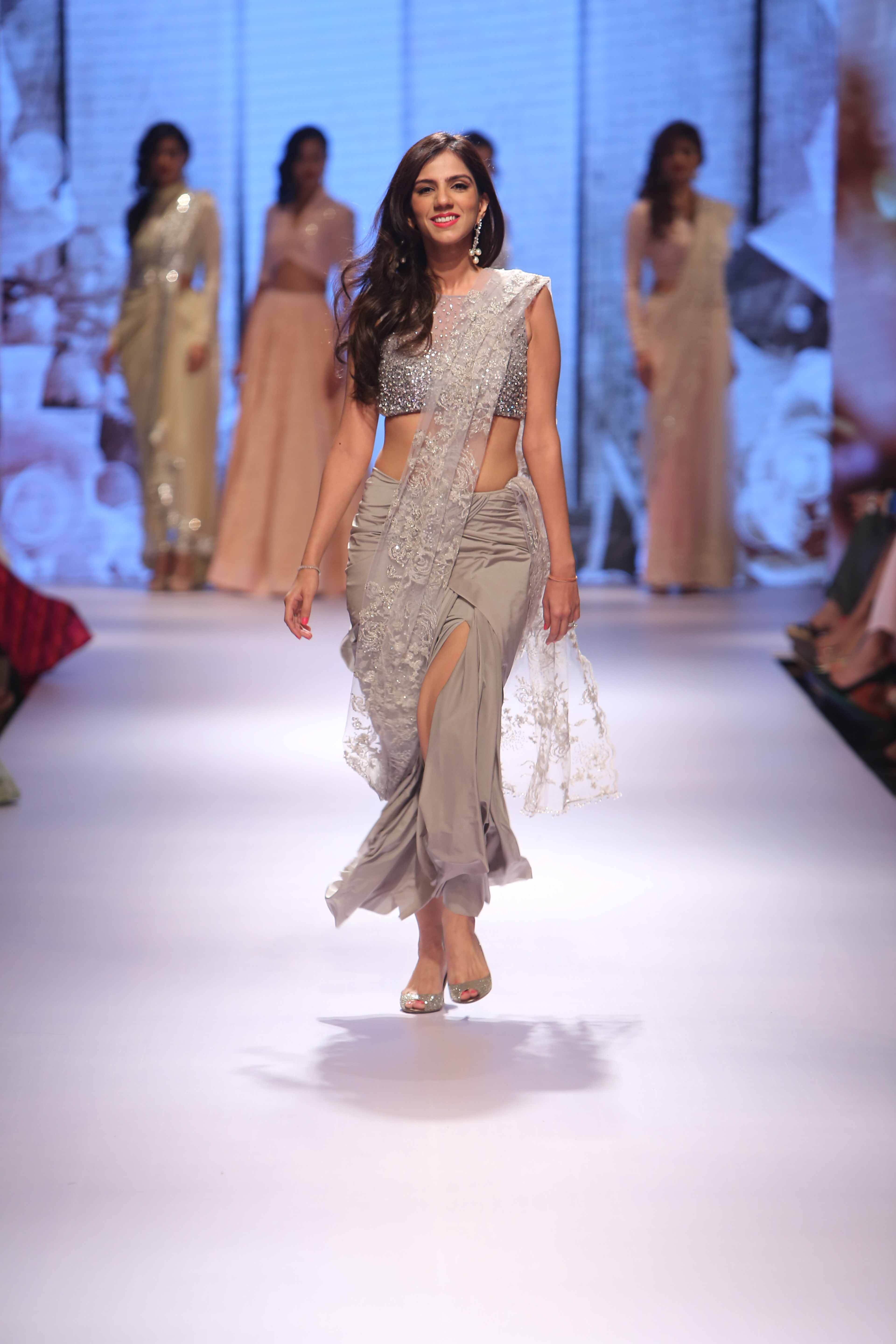 Nishka Lulla at the Lakme Fashion Week