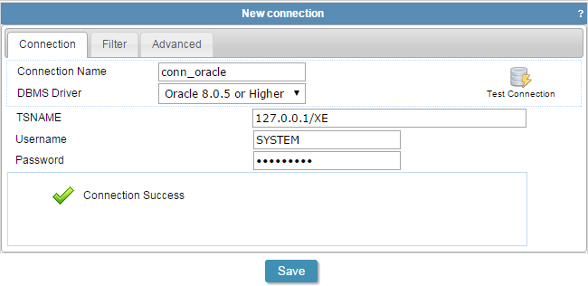 PHP Oracle Connection