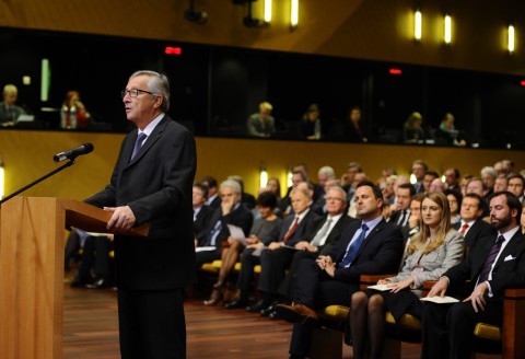 Swearing-in of Jean-Claude Juncker, President of the EC