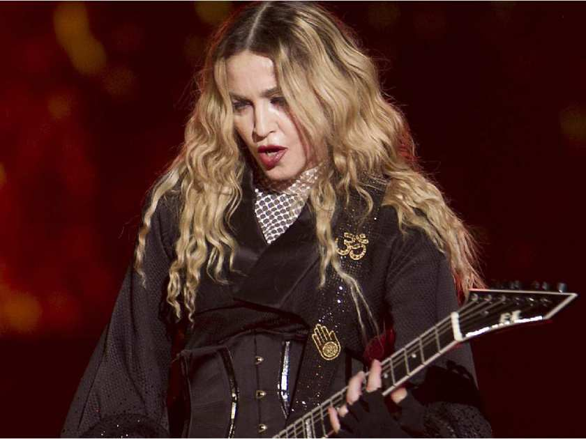 Madonna during her concert at the Bell Centre in Montreal on Wednesday September 09, 2015. Madonna is launching her worldwide Rebel Heart Tour with two shows at the Bell Centre.