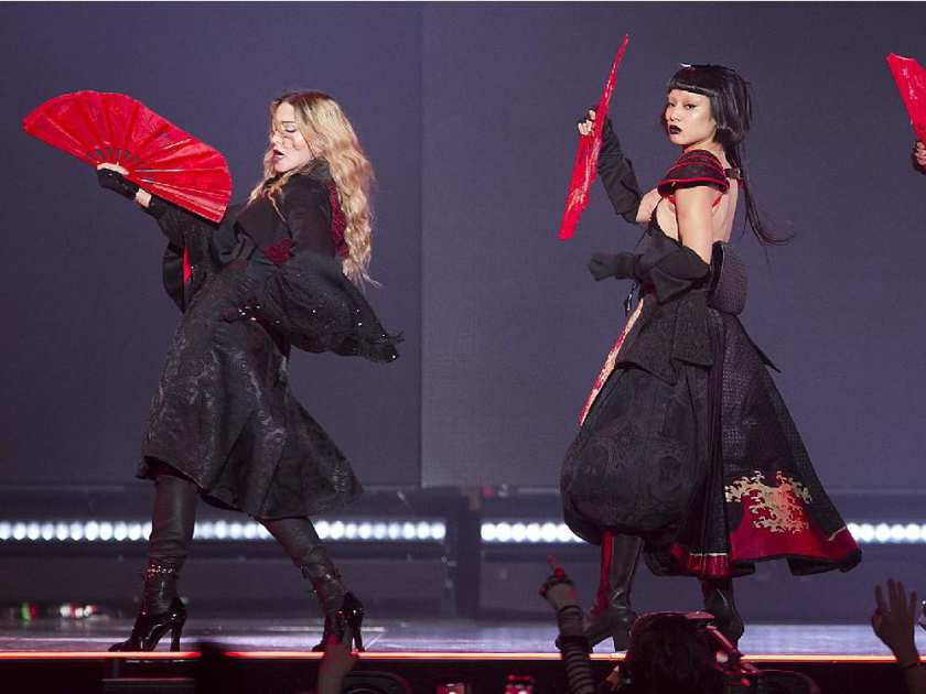 Madonna performs at the Bell Centre in Montreal on Wednesday September 9, 2015. Madonna is launching her worldwide Rebel Heart Tour with two shows at the Bell Centre.