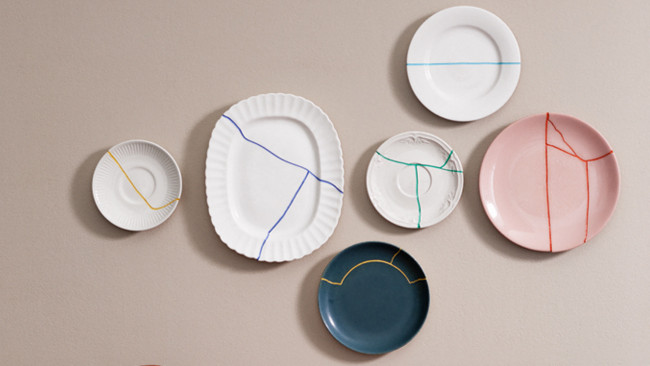 How to repurpose cracked plates
